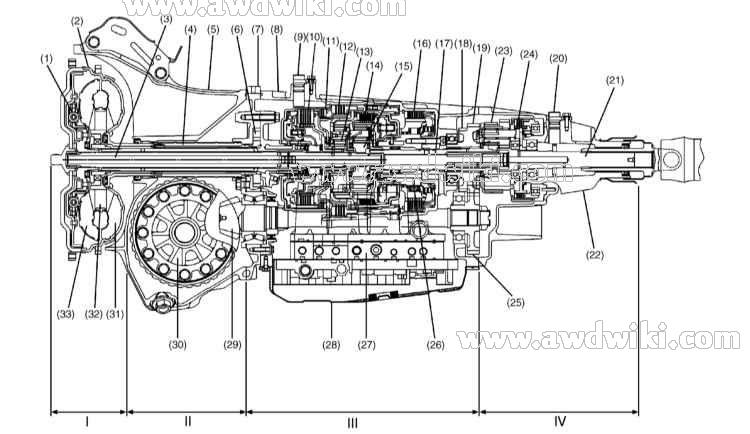 1996 Subaru Legacy Brake Line Diagram
