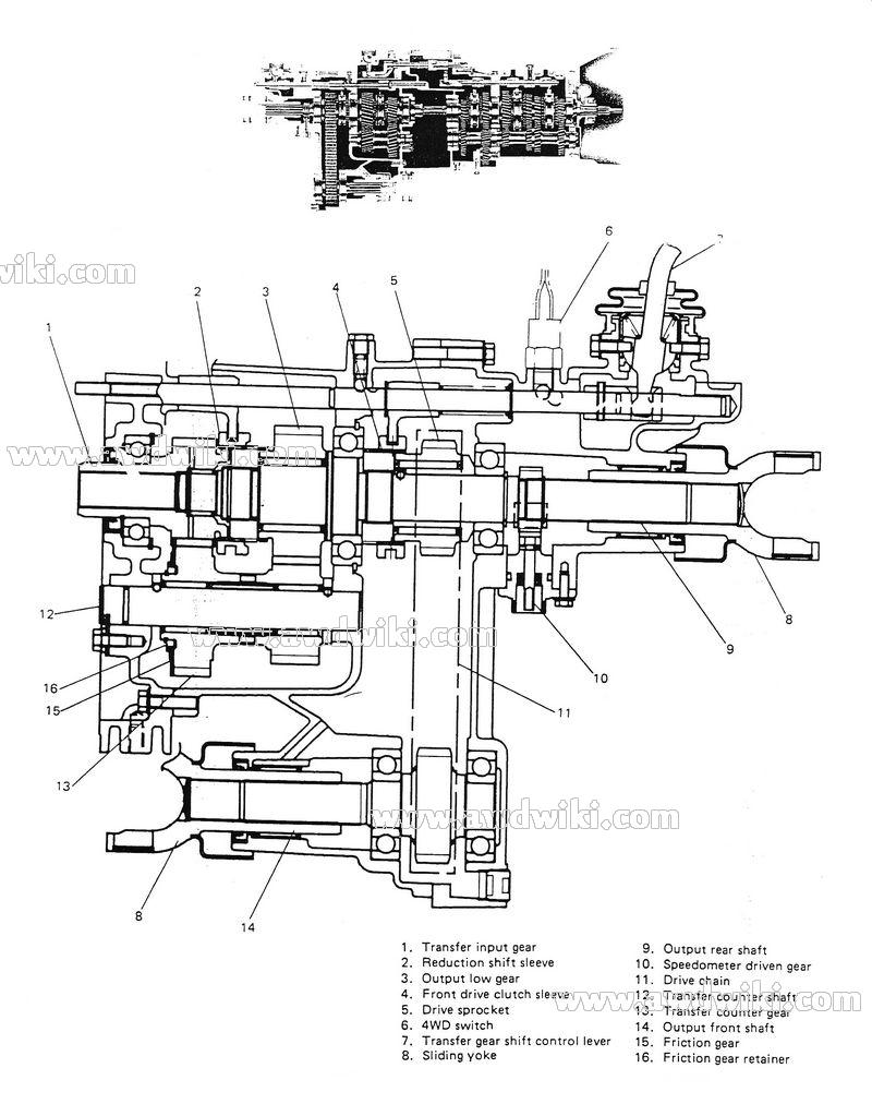 2008 suzuki vitara rear brake diagram