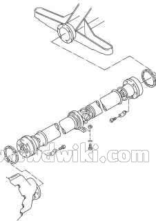audi-80-quattro-b3-propeller-shaft