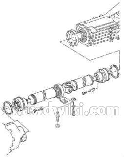 audi-80-quattro-b4-propeller-shaft