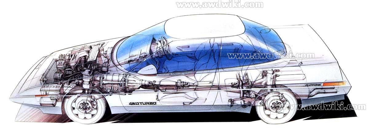 Superior Subaru Alcyone Xt